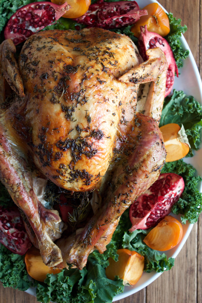this turkey for the butter roasted turkey recipe click here