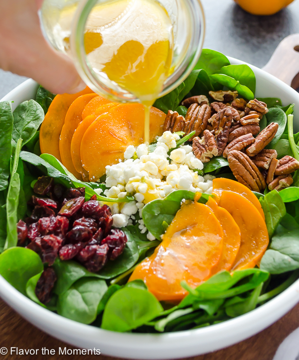 persimmon-and-spinach-salad
