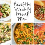 Healthy Weekly Meal Plan 12.10.16