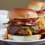 BBQ Chicken Burgers + A Giveaway!