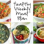 Healthy Weekly Meal Plan 1.21.17
