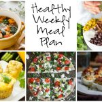 Healthy Weekly Meal Plan 1.7.17