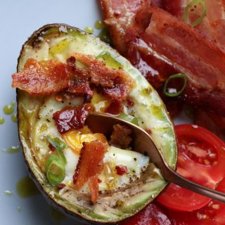 Baked Egg Avocado Boats
