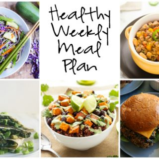 Healthy Weekly Meal Plan 2.25.17
