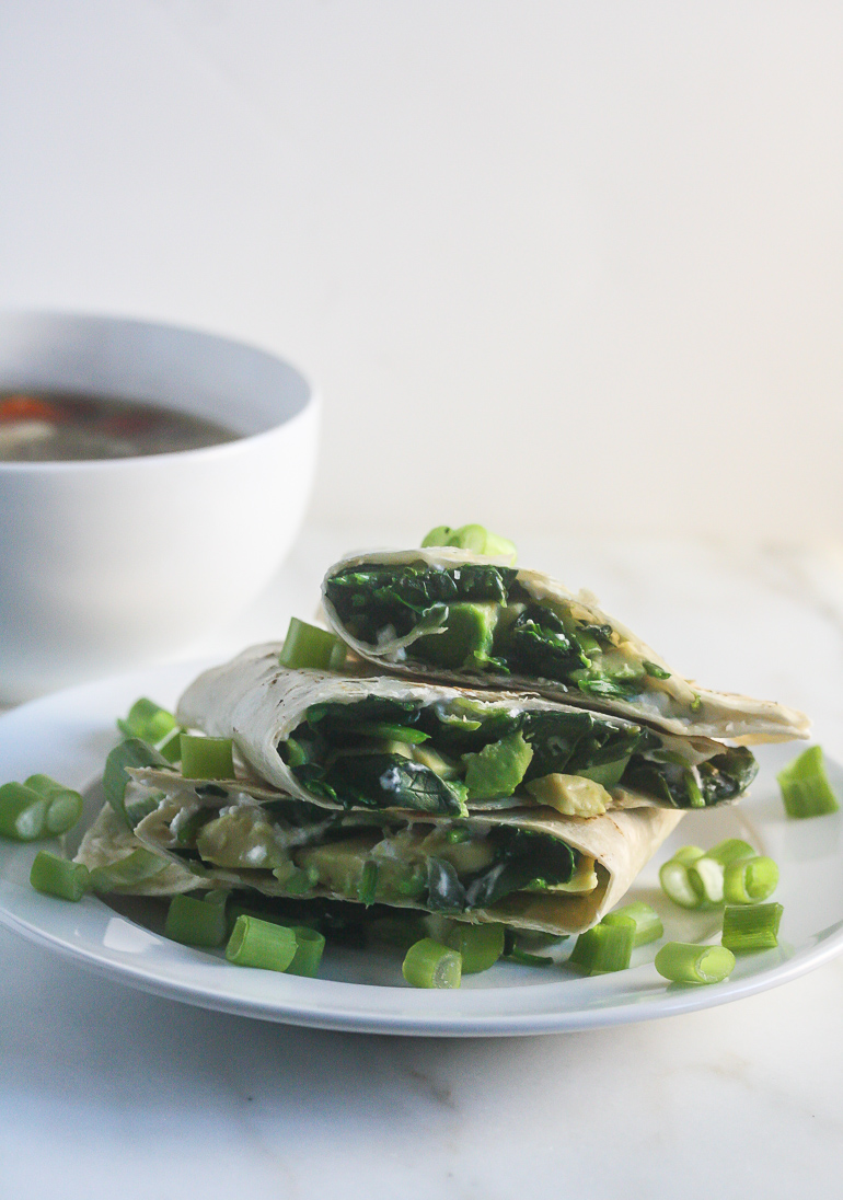 Healthy Weekly Meal Plan 2.25.17 featuring Spinach Avocado Goat Cheese Quesadillas, Turkey Sausage Jalapeno White Bean Chili, Black Bean Quinoa Burgers and more!