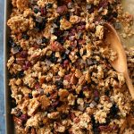 Gluten Free Maple Pecan Trail Mix Granola