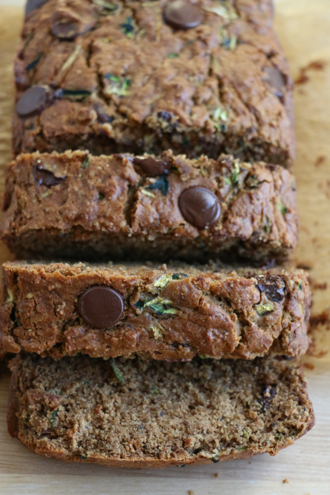 The Best Zucchini Banana Bread!! So flavorful, moist and subtly sweet. The next time you have ripe bananas, you have to bake this!
