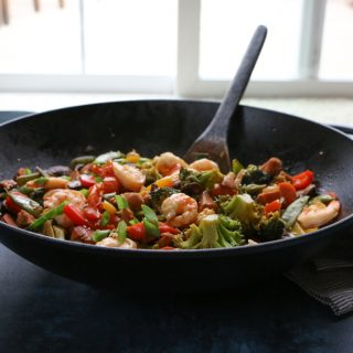 Chicken Shrimp Stir Fry