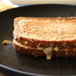 Mouthwatering Havarti Chipotle and Gouda Grilled Cheese Sandwich