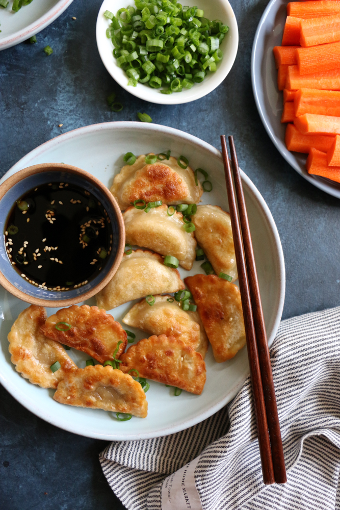 Nasoya Organic Tofu Vegetable Dumplings with Dipping Sauces! A ready to cook meal or snack, these dumplings are packed with protein and ready to eat in as little as 5 minutes!