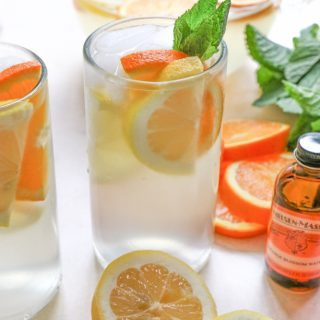 Refreshing Orange Blossom Lemonade