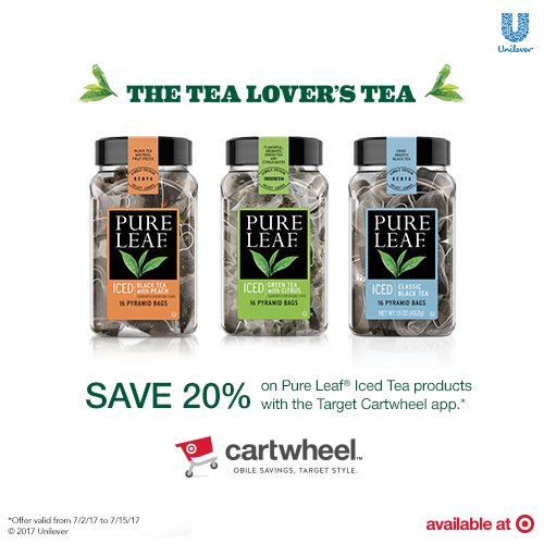 Doing Summer Right with Pure Leaf Home Brewed Iced Teas! Look for them at Target and get 20% off with the Pure Leaf Home Brewed Iced Teas Cartwheel offer valid from July 2nd to July 15th! #ad