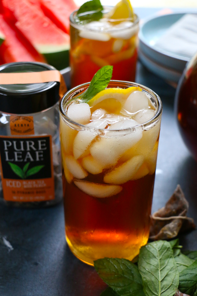 Doing Summer Right with Pure Leaf Home Brewed Iced Teas! Look for them at Target and get20% off with the Pure Leaf Home Brewed Iced Teas Cartwheel offer valid from July 2ndto July 15th!