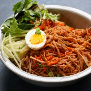 Cooking Workshop: Spicy Korean Cold Noodle Salad