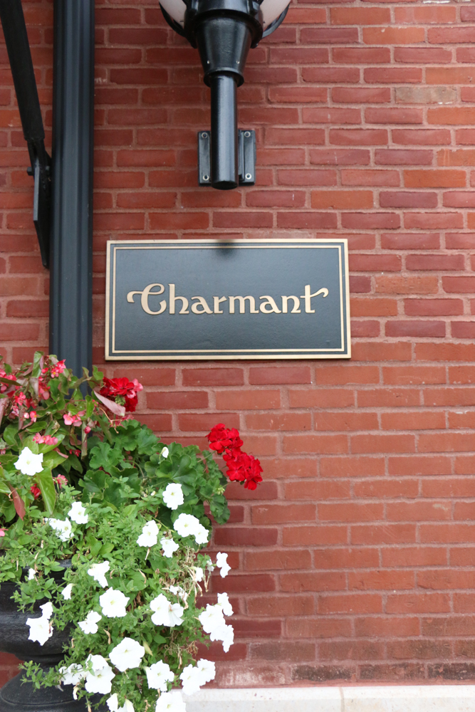 The Charmant Hotel in La Crosse, Wisconsin! Stylish, unique and so lovely! This is the only independent boutique hotel in La Crosse! If you're ever in the area, you simply must stop in for dinner or a drink at the bar and if you're staying the night, you have to check it out!