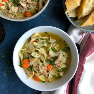 Pressure Cooker Chicken Noodle Soup! Easier, faster and still rich in flavor! You won't believe how easy it is to make and how delicious!