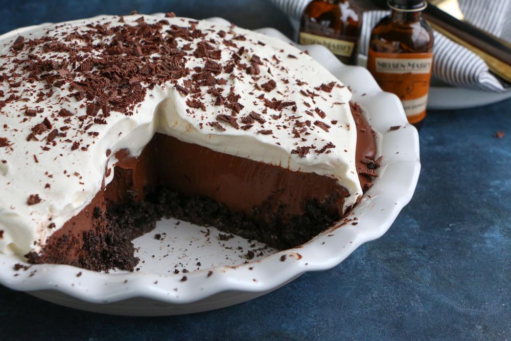 The Best Chocolate Cream Pie Hip Foodie Mom