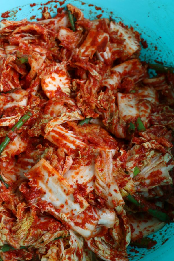 My Aunt's Kimchi recipe is here!!! So delicious, flavorful, refreshing and easy to make! And I note how to make this vegan down below! You simply need to buy vegan fish sauce, that's it! I hope you give this recipe a try!