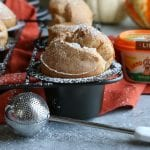 Pumpkin Pie Spice Popovers! The perfect treat to make this holiday season! These are so flavorful and delicious!