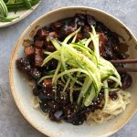 Korean Jajangmyeon: Noodles with Black Bean Sauce + A Video!
