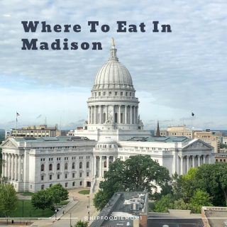 Where to eat in Madison, Wisconsin. You might not know it, but Madison is a gem of a foodie town! There's so much more than just cheese curds!