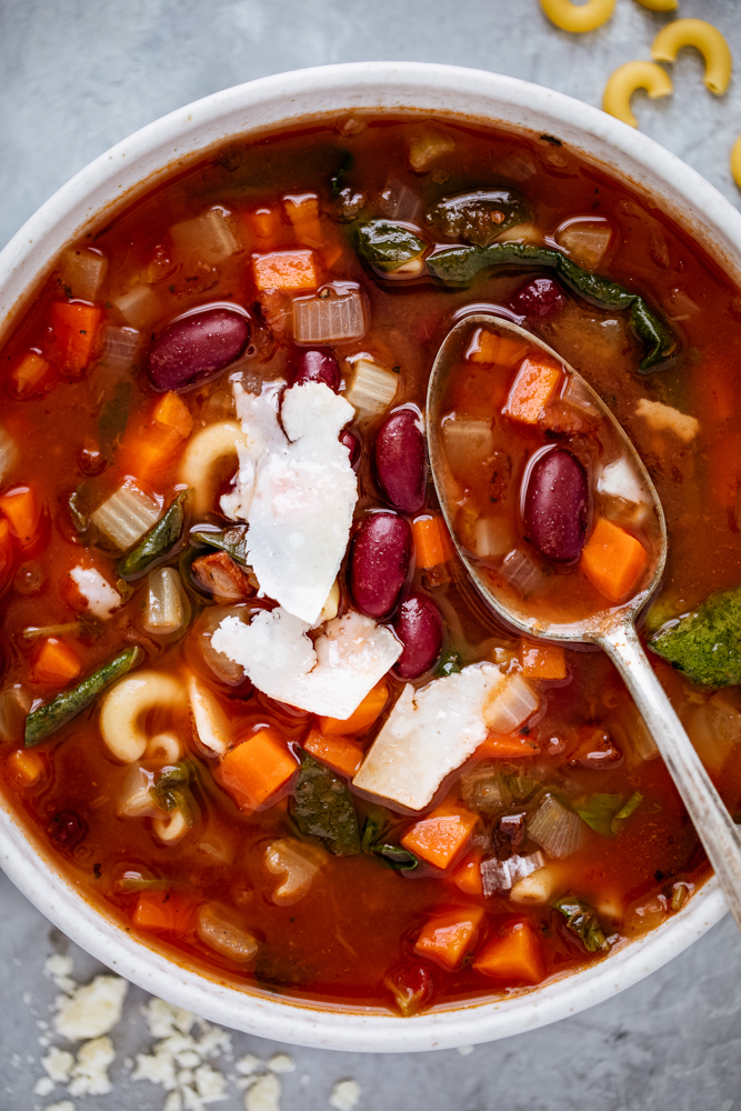 Minestrone Soup Hip Foodie Mom