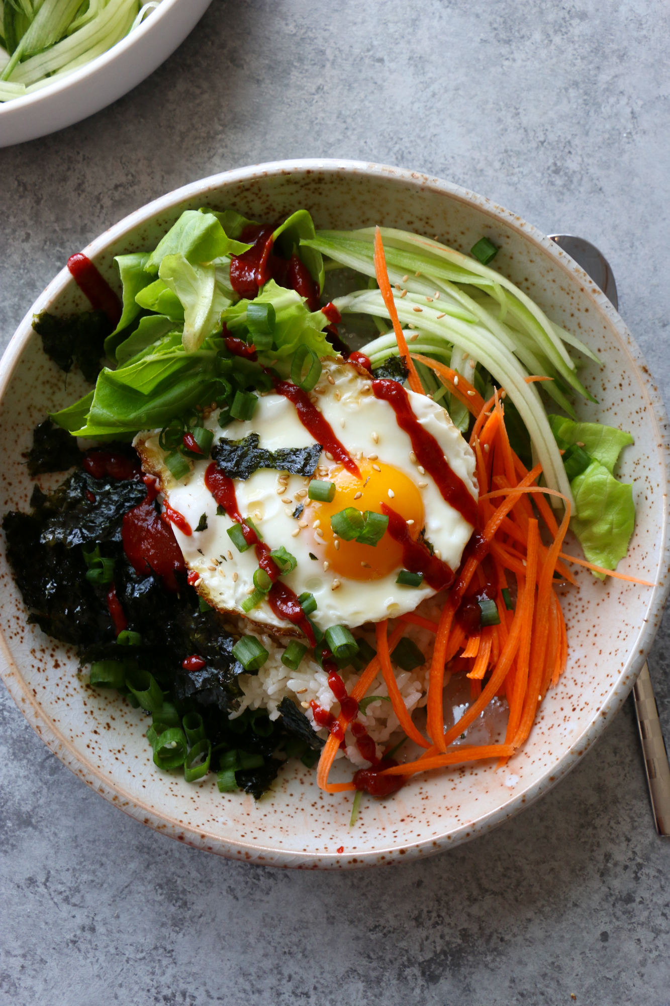 How To Make Breakfast Bibimbap Hip Foodie Mom